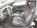 2014 Jaguar XK Red Duo Tone/Warm Charcoal Interior Front Seat Photo