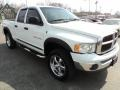 2002 Bright White Dodge Ram 1500 SLT Quad Cab 4x4  photo #16