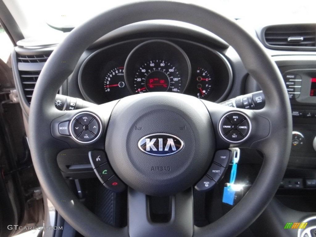 2011 Kia Soul >> 2014 Kia Soul 1.6 Steering Wheel Photos | GTCarLot.com