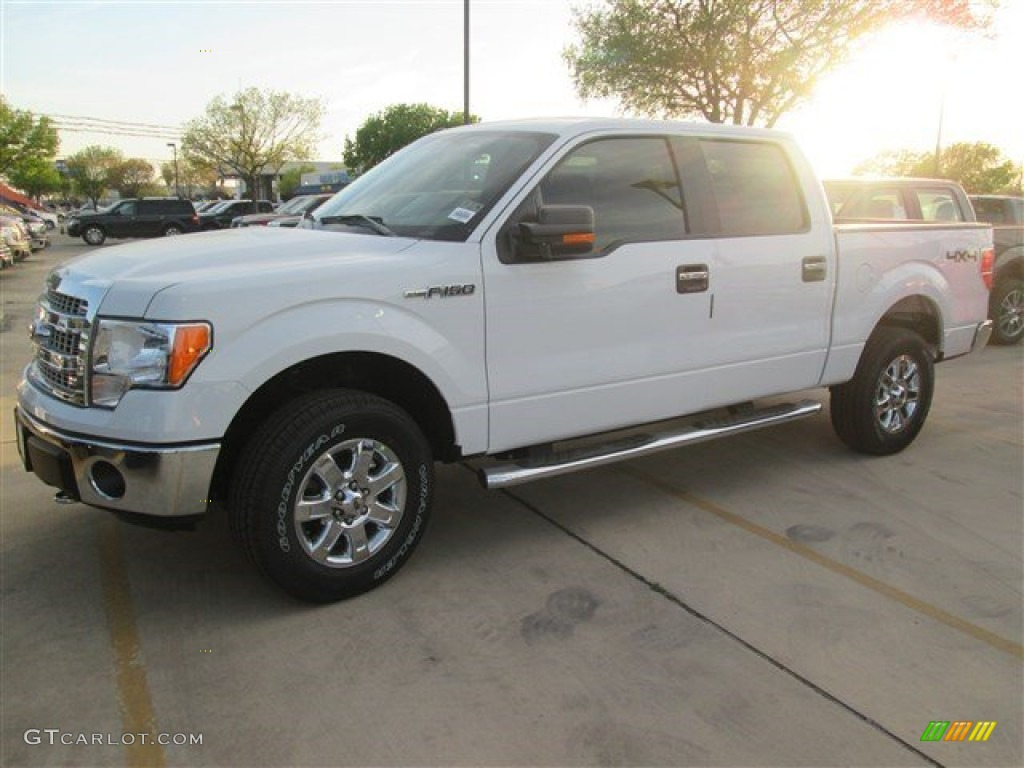 2014 oxford white ford f150 xlt supercrew 4x4 91703990 car color galleries. Black Bedroom Furniture Sets. Home Design Ideas