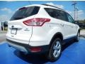 2014 White Platinum Ford Escape SE 1.6L EcoBoost  photo #3