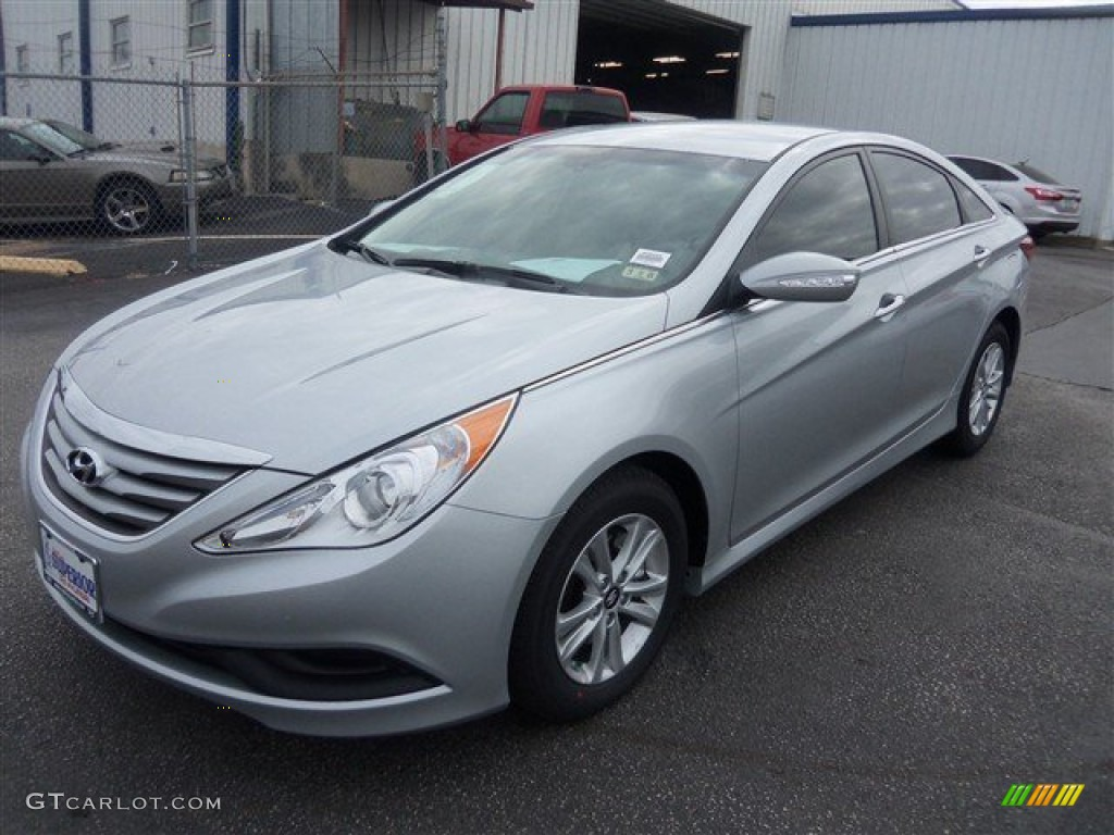 2014 radiant silver hyundai sonata gls 91754671 car color galleries. Black Bedroom Furniture Sets. Home Design Ideas