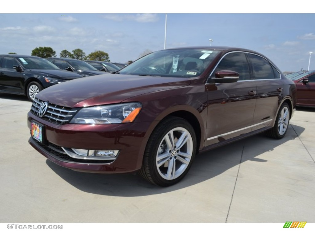 2014 Passat TDI SEL Premium - Opera Red Metallic / Titan Black photo #1