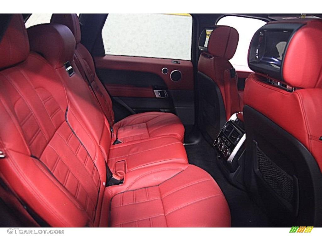 2014 Range Rover Autobiography Red Interior