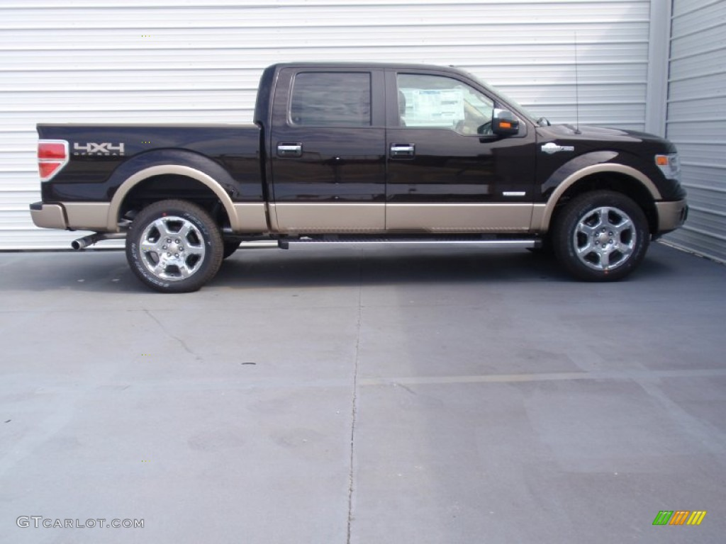 2014 kodiak brown ford f150 king ranch supercrew 4x4 91776735 photo 3 car. Black Bedroom Furniture Sets. Home Design Ideas