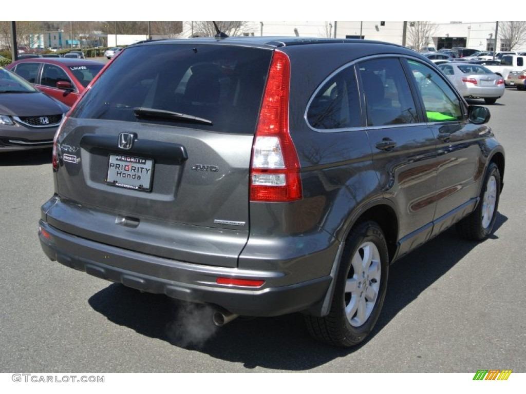 2011 CR-V SE 4WD - Polished Metal Metallic / Black photo #5
