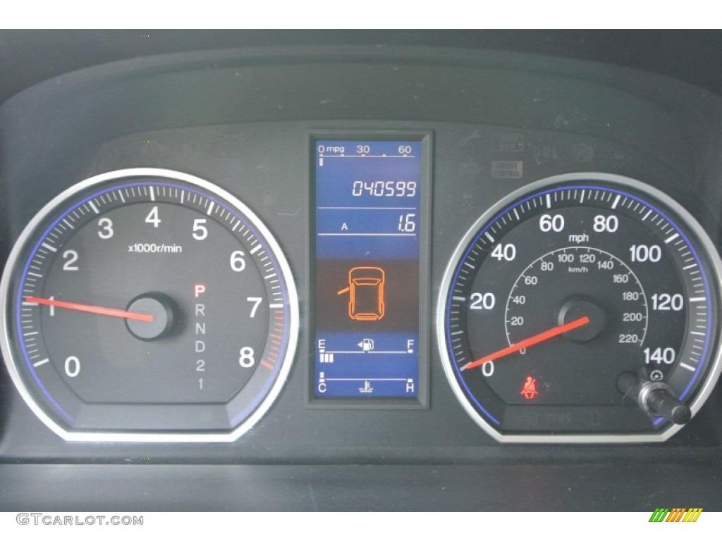 2011 CR-V SE 4WD - Polished Metal Metallic / Black photo #15
