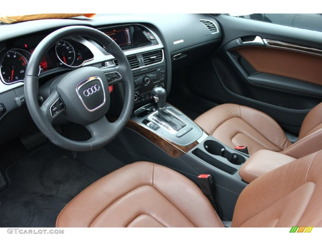 Cinnamon Brown Interior 2011 Audi A5 2 0t Quattro Coupe