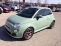 Verde Chiaro (Light Green) 2012 Fiat 500 Sport