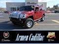 Red Metallic - H2 SUV Photo No. 1