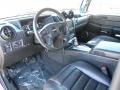 2005 H2 SUV Ebony Black Interior