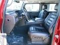 Front Seat of 2005 H2 SUV