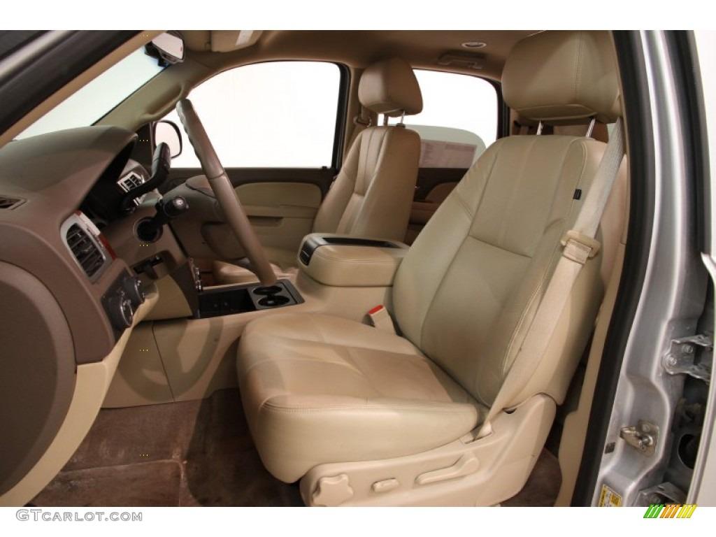 Light Cashmere Dark Cashmere Interior 2013 Chevrolet Tahoe Lt 4x4 Photo 91813493