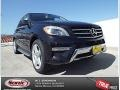 Black 2014 Mercedes-Benz ML 350