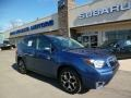 Marine Blue Pearl 2014 Subaru Forester 2.0XT Touring