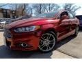 2013 Ruby Red Metallic Ford Fusion Titanium #91811223