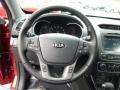 Black Steering Wheel Photo for 2015 Kia Sorento #91857869