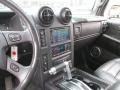 Controls of 2005 H2 SUV