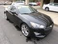 2013 Black Noir Pearl Hyundai Genesis Coupe 3.8 R-Spec  photo #2