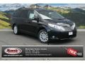 Black 2014 Toyota Sienna Limited AWD