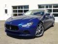 Blu Emozione (Blue) 2014 Maserati Ghibli Gallery