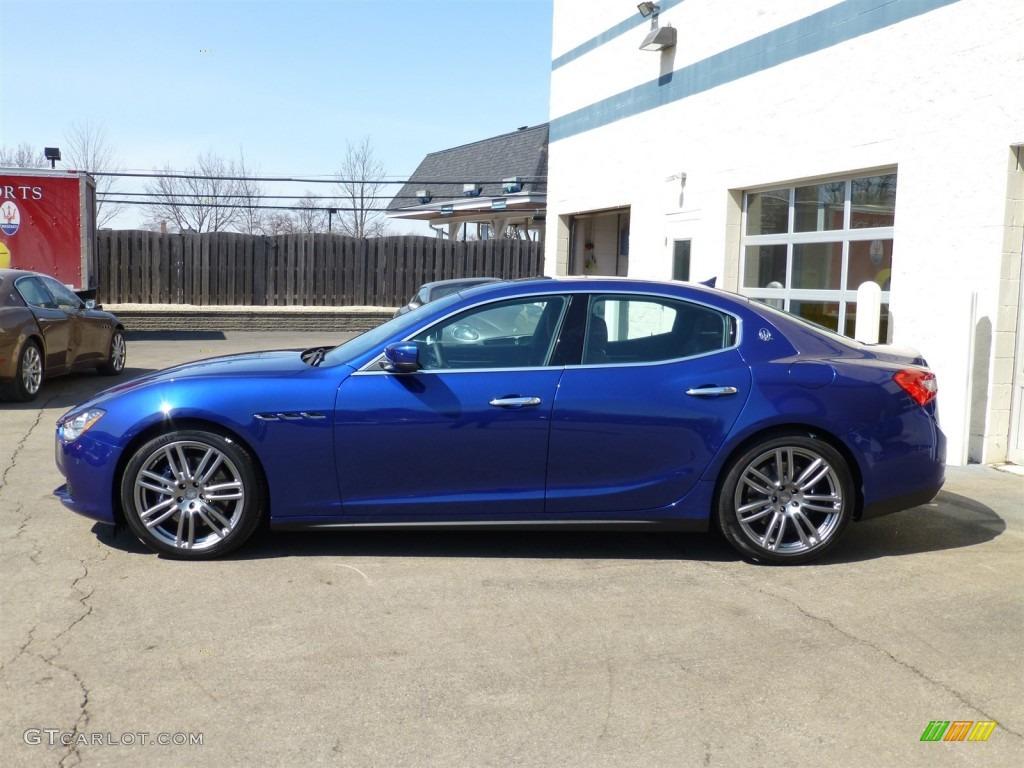 Blu Emozione Blue 2014 Maserati Ghibli S Q4 Exterior Photo 91936778