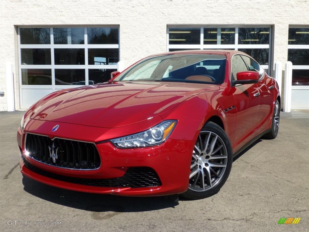 Rosso Energia Red 2014 Maserati Ghibli S Q4 Exterior Photo 91937117