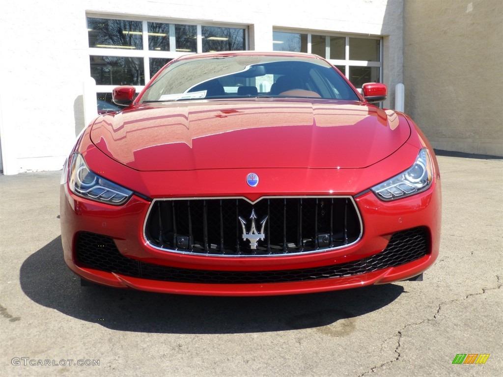 Rosso Energia Red 2014 Maserati Ghibli S Q4 Exterior Photo 91937131