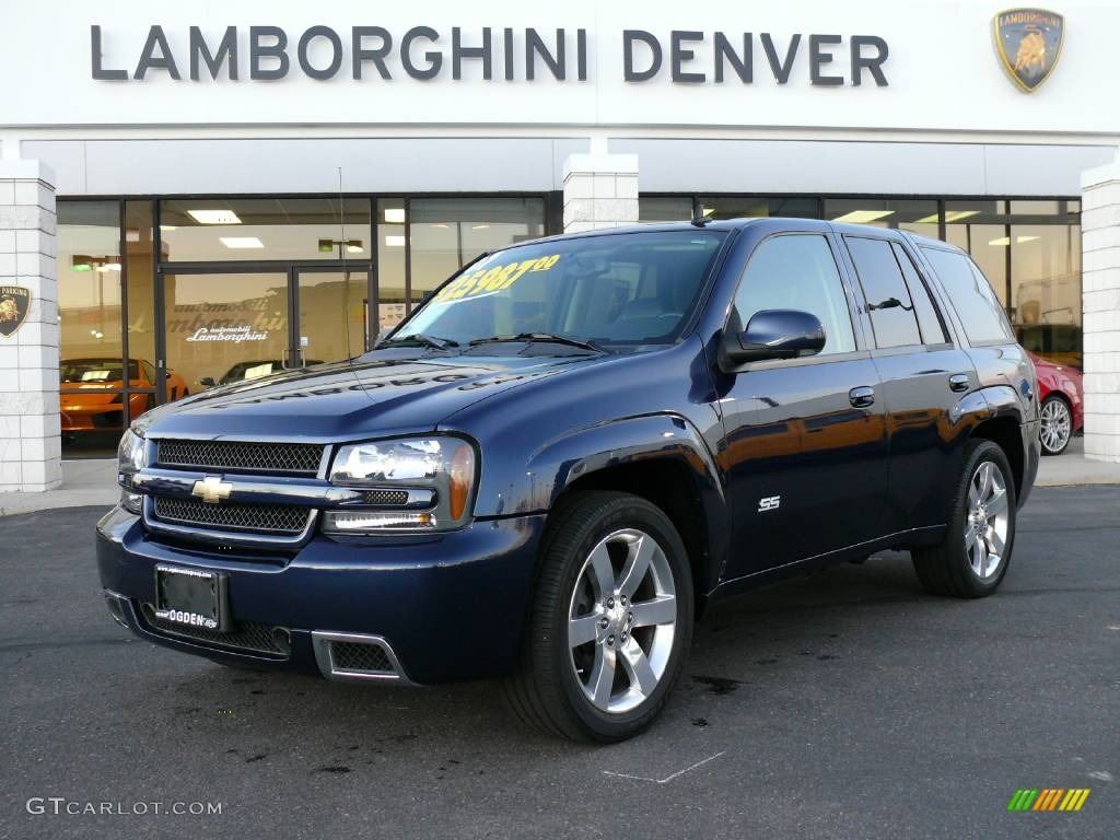 2007 imperial blue metallic chevrolet trailblazer ss 4x4. Black Bedroom Furniture Sets. Home Design Ideas