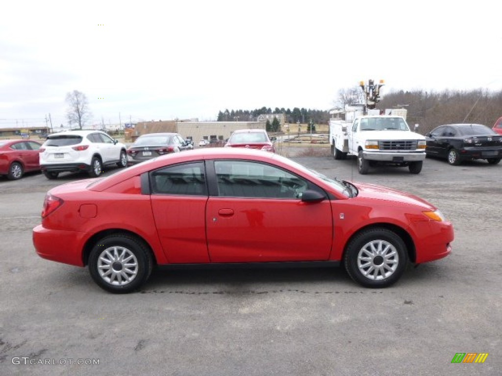chili pepper red 2007 saturn ion 2 quad coupe exterior. Black Bedroom Furniture Sets. Home Design Ideas