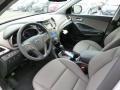 Gray 2014 Hyundai Santa Fe Interiors