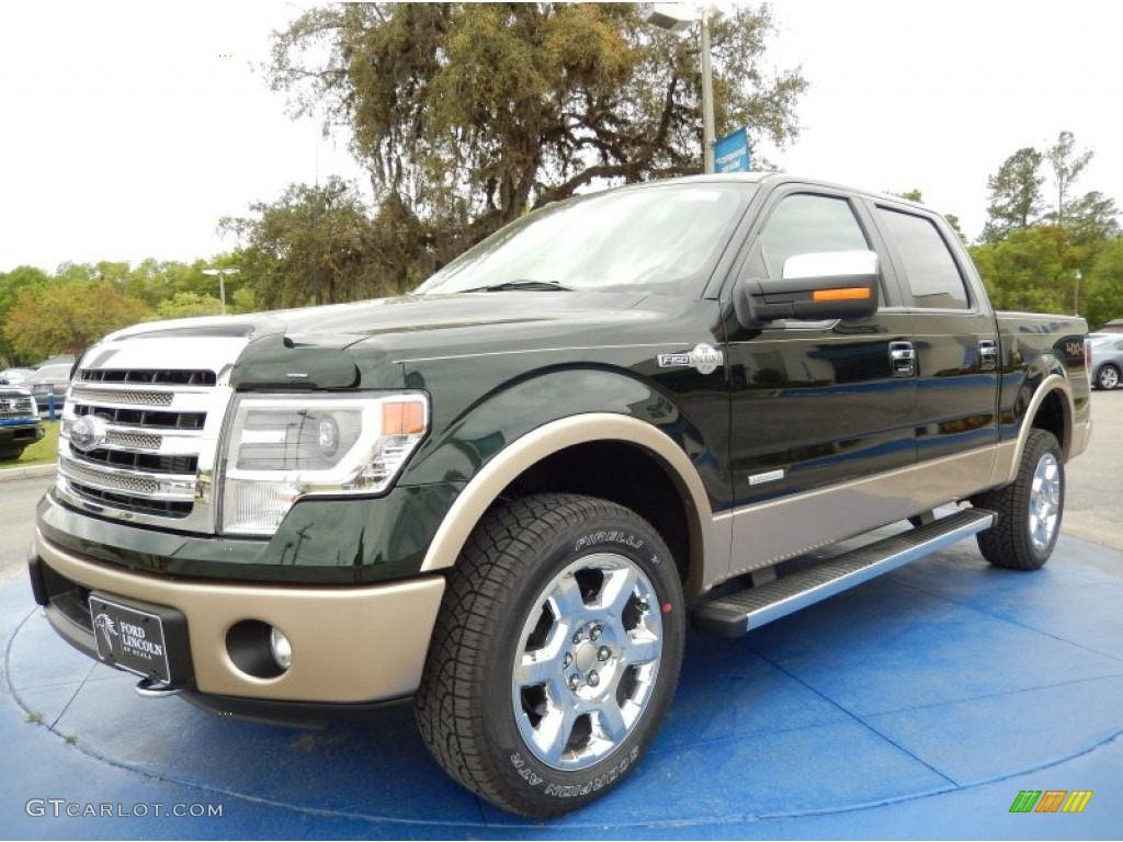 2014 green gem ford f150 king ranch supercrew 4x4. Black Bedroom Furniture Sets. Home Design Ideas
