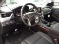 2015 Yukon SLT 4WD Jet Black Interior