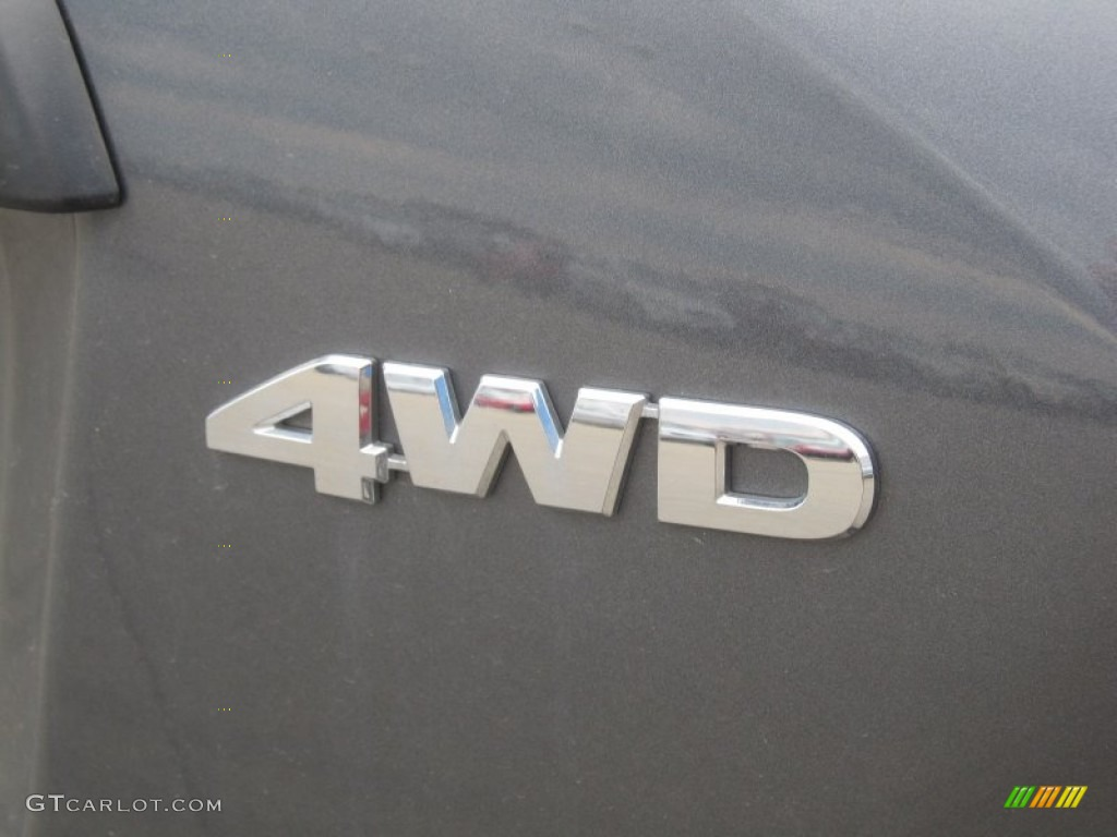 2011 CR-V LX 4WD - Polished Metal Metallic / Black photo #17