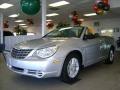 2008 Bright Silver Metallic Chrysler Sebring LX Convertible  photo #1