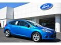 Blue Candy 2014 Ford Focus SE Hatchback