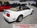 2007 Performance White Ford Mustang GT Premium Convertible  photo #3