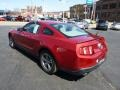 2011 Red Candy Metallic Ford Mustang V6 Premium Coupe  photo #6