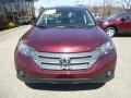 2012 Basque Red Pearl II Honda CR-V EX 4WD  photo #8