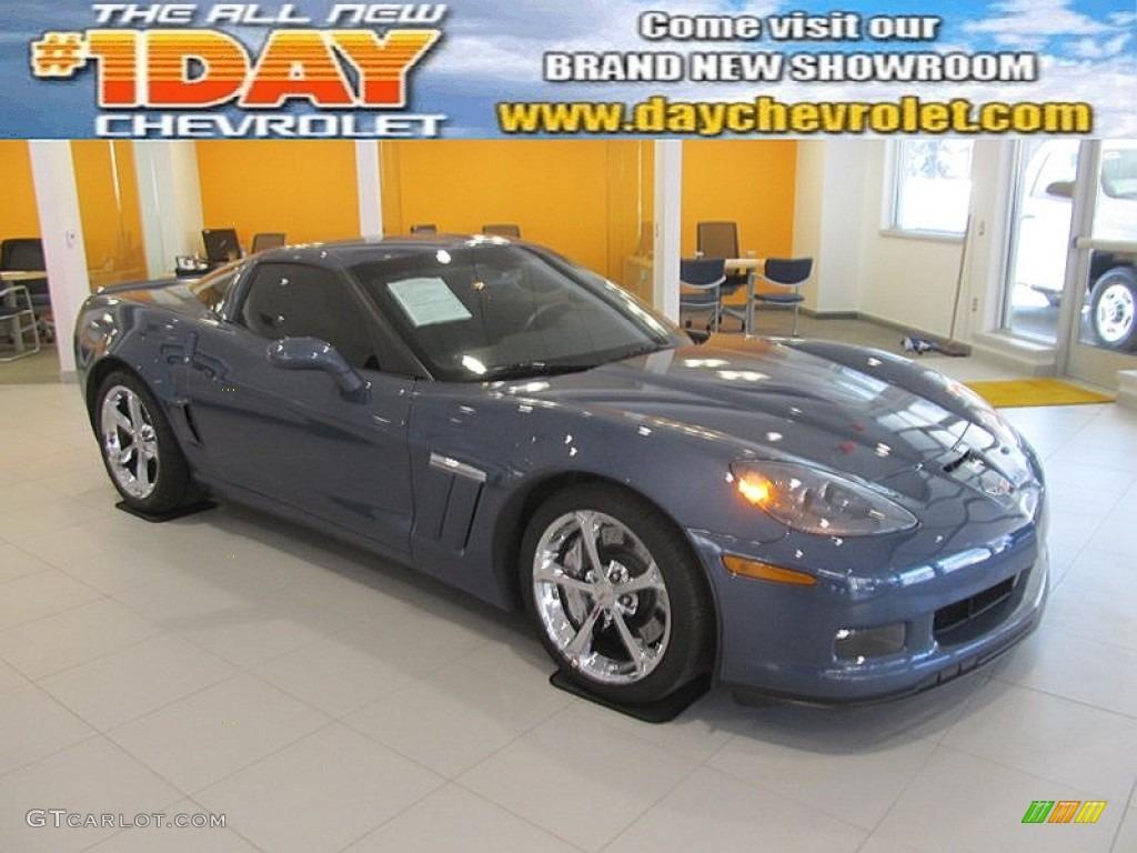 2011 Supersonic Blue Metallic Chevrolet Corvette Grand Sport Coupe 92008350