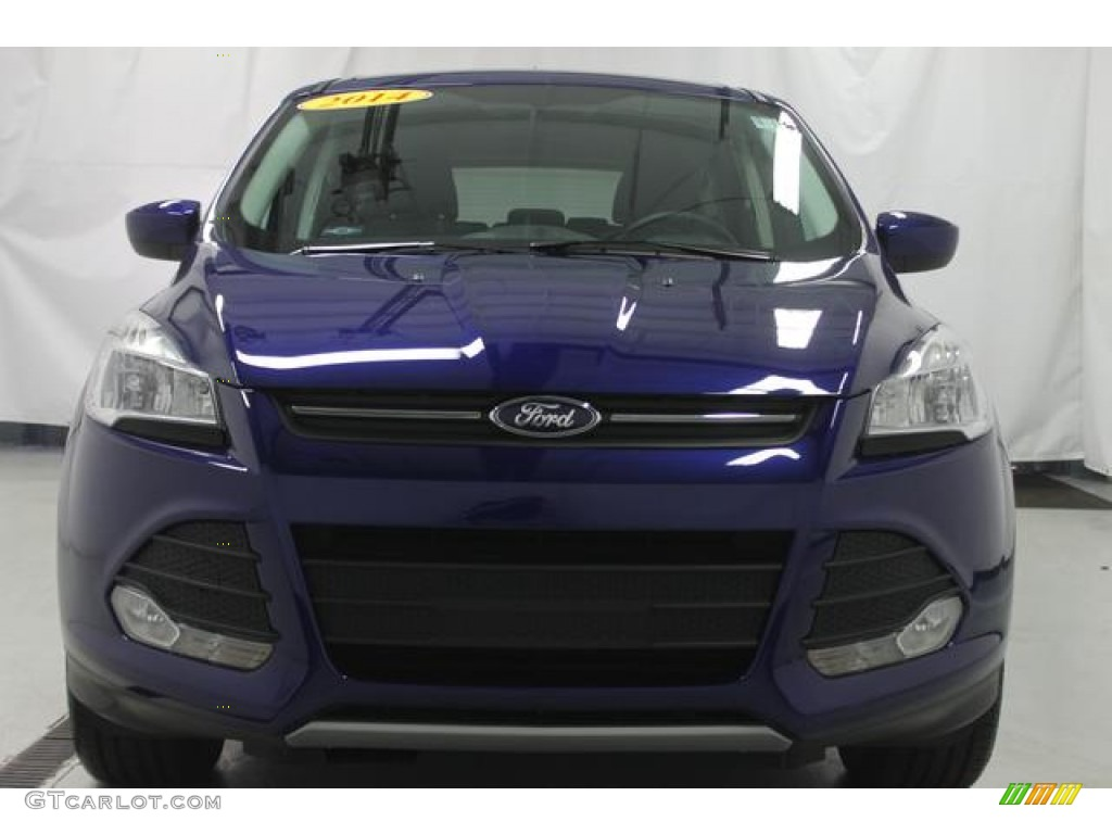 2014 Escape SE 1.6L EcoBoost - Deep Impact Blue / Charcoal Black photo #4