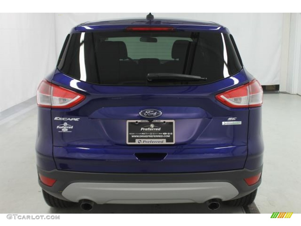 2014 Escape SE 1.6L EcoBoost - Deep Impact Blue / Charcoal Black photo #8