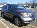 2011 Polished Metal Metallic Honda CR-V EX 4WD  photo #3