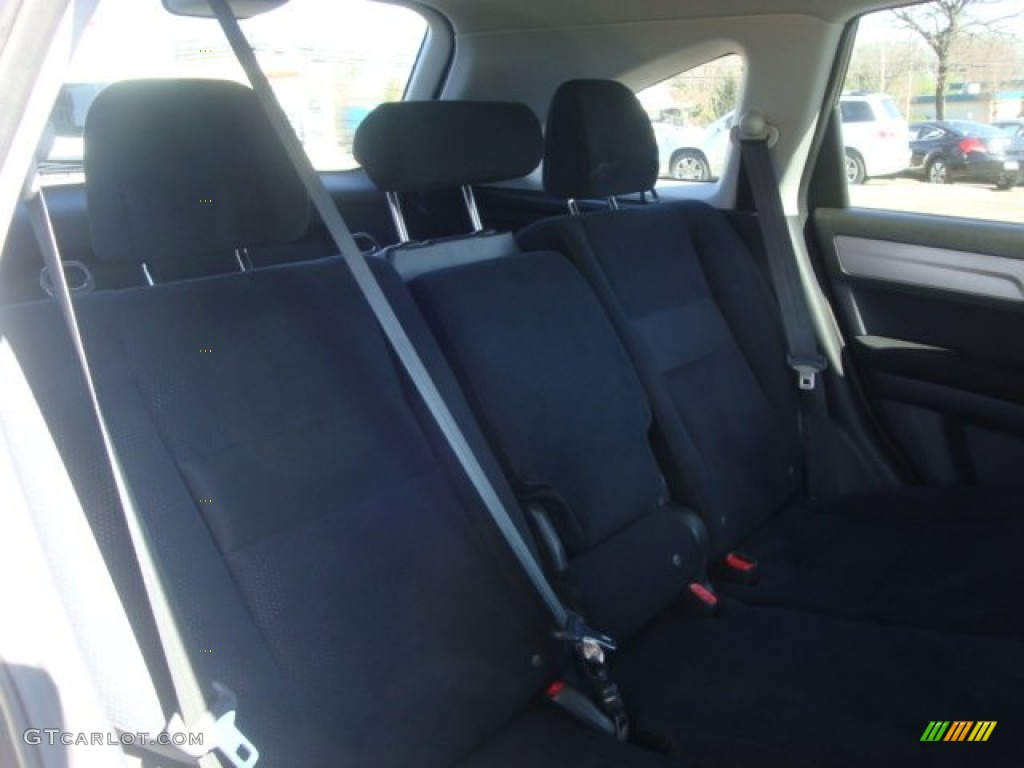 2011 CR-V EX 4WD - Polished Metal Metallic / Black photo #14