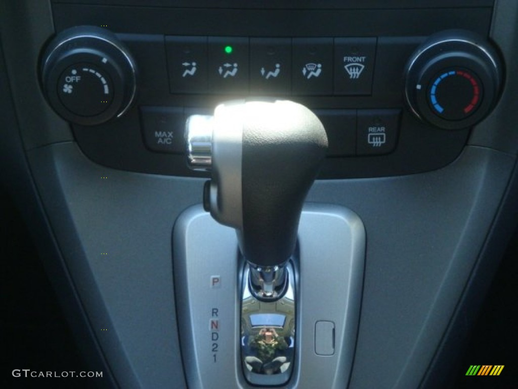 2011 CR-V EX 4WD - Polished Metal Metallic / Black photo #25