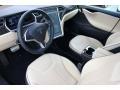 2013 Model S P85 Performance Tan Interior