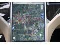 Navigation of 2013 Model S P85 Performance
