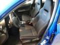 2014 Subaru Impreza Black Interior Front Seat Photo
