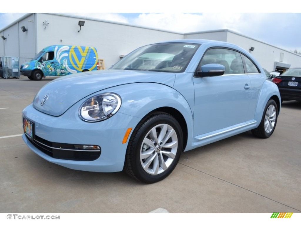 2014 Denim Blue Volkswagen Beetle TDI #92038858 | GTCarLot.com - Car Color Galleries