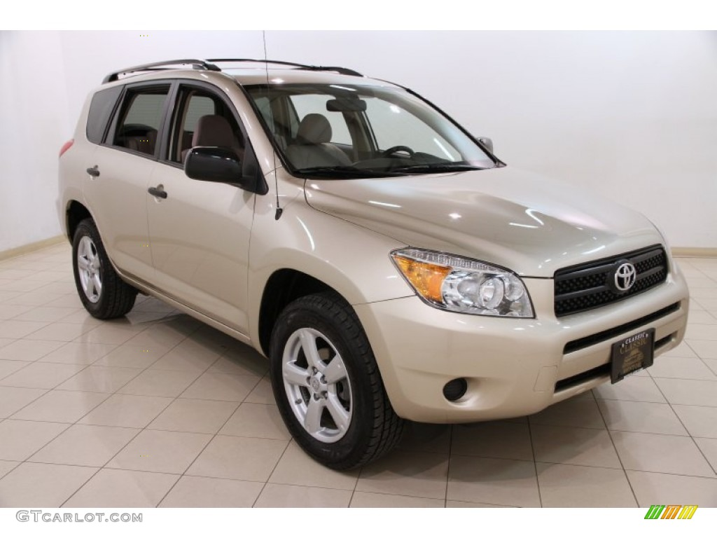 2006 beige metallic toyota rav4 4wd 92039085 car color galleries. Black Bedroom Furniture Sets. Home Design Ideas